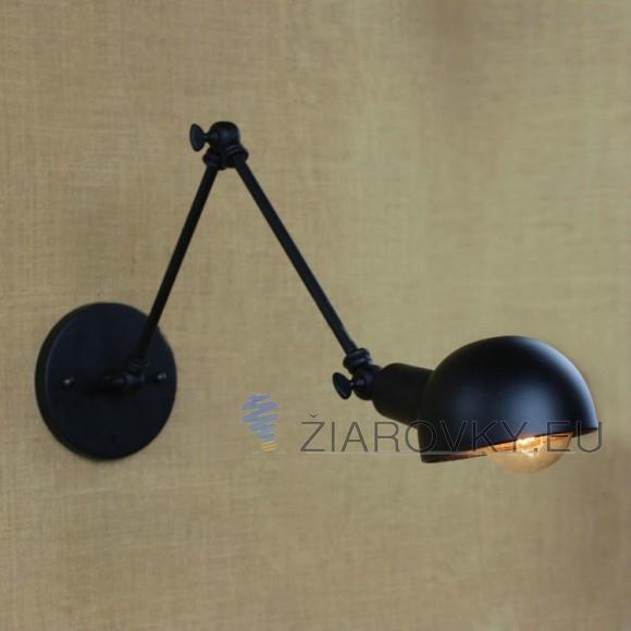 Nástenné svietidlo Bedside s nastaviteľným ramenom je čoraz používanejšie a populárnejšie pre moderné a priemyselné interiéry. 580x580 AKCIE !