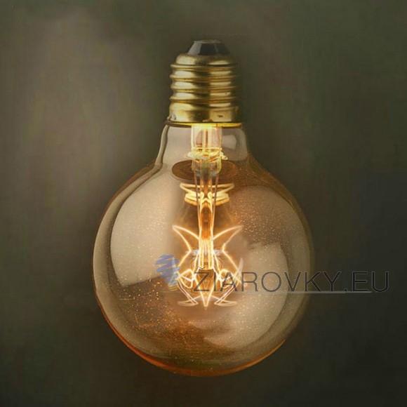 EDISON žiarovka - STAR SHINES - E27, 40W, 130lm