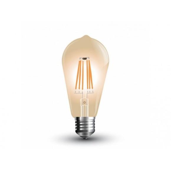 FILAMENT žiarovka TEARDROP E27 Teplá biela 4W 350lm V TAC 580x580 AKCIE !