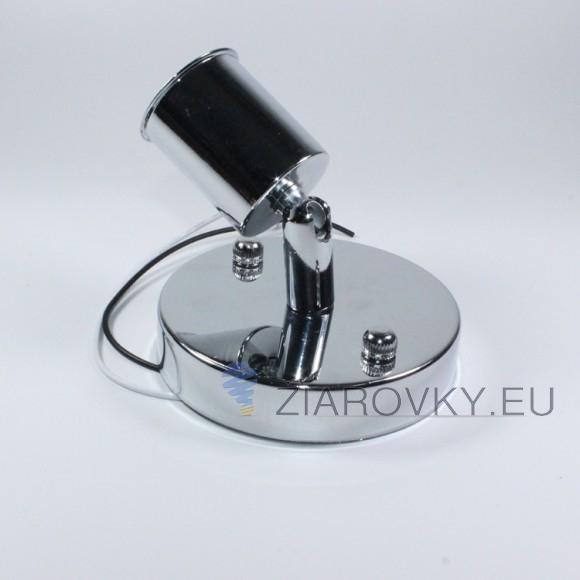 Jednoduché stropné svietidlo v modernom štýle 180° rotácia strieborná farba 580x580 AKCIE !