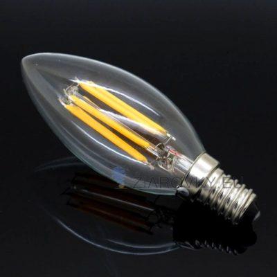 FILAMENT žiarovka - CANDLE - E14, Teplá biela, 2W, 280lm (1)