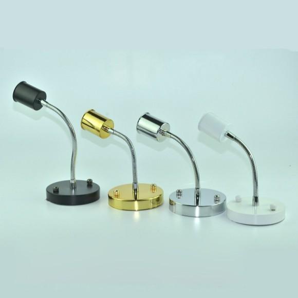 Jednoduché stropné svietidlo 12cm v modernom štýle 180° rotácia 580x580 AKCIE !