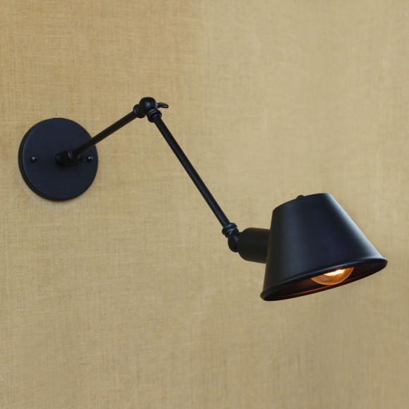 Historické nástenné svietidlo Vintage s nastaviteľným ramenom1 580x580 AKCIE !