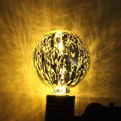 Dekoračná žiarovka - ANTIQUE - E27, 5W, Teplá biela