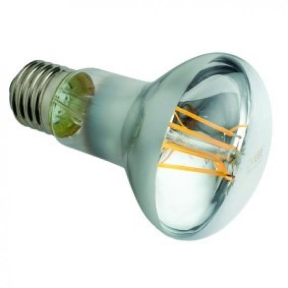 FILAMENT žiarovka - POINT - E27, R63, Teplá biela, 6W, 400lm, V-TAC