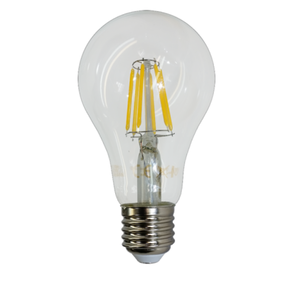 FILAMENT žiarovka - WATERDROP - E27, Denná biela, 10W, 1055lm, V-TAC