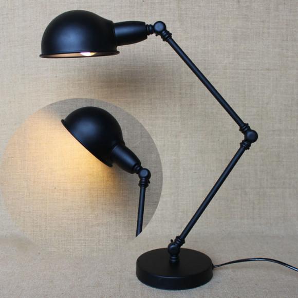Historické stolové svietidlo Bedside s nastaviteľným ramenom1