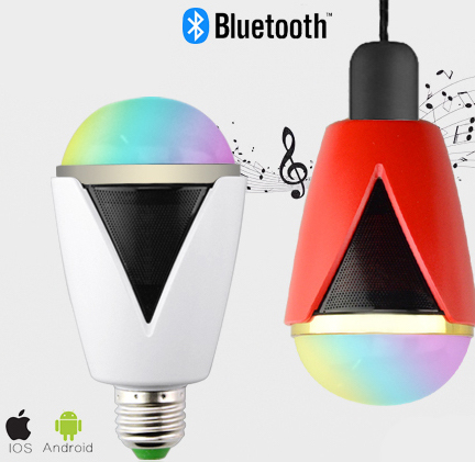 Inteligentná LED žiarovka E27 s bluetooth reproduktorom2 1 AKCIE !