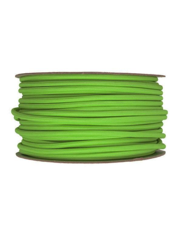Kábel-dvojžilový-v-podobe-textilnej-šnúry-v-zelenej-farbe-2-x-0.75mm-1-meter1