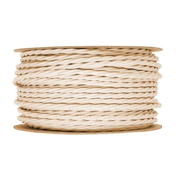 Kábel-dvojžilový-skrútený-v-podobe-textilnej-šnúry-v-bežovej-farbe-2-x-0.75mm-1-meter