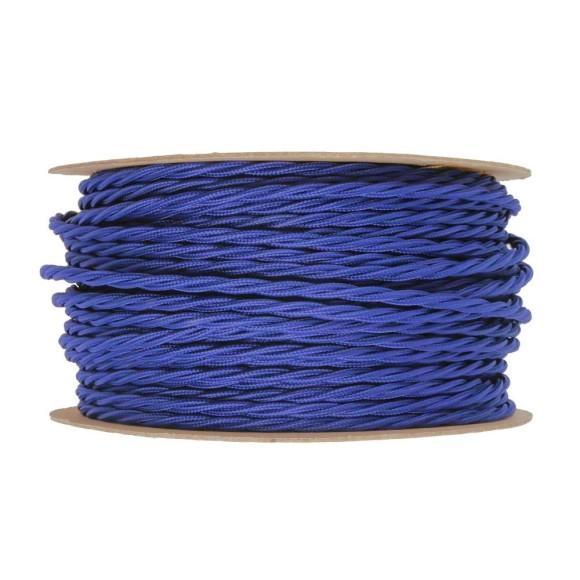Kábel-dvojžilový-skrútený-v-podobe-textilnej-šnúry-v-tmavo-modrej-farbe-2-x-0.75mm-1-meter