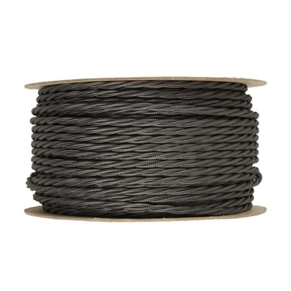 Kábel-dvojžilový-skrútený-v-podobe-textilnej-šnúry-v-tmavo-šedej-farbe-2-x-0.75mm-1-meter-1