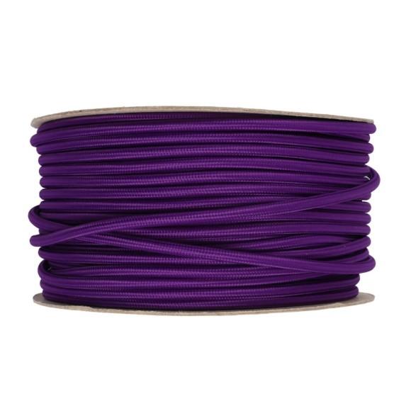 Kábel-dvojžilový-v-podobe-textilnej-šnúry-vo-fialovej-farbe-2-x-0.75mm-1-meter