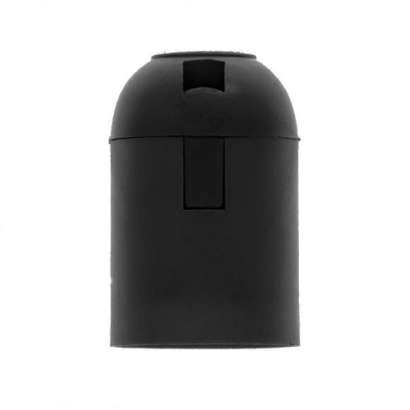 Plastová-základná-objímka-E27-•-čierna-1