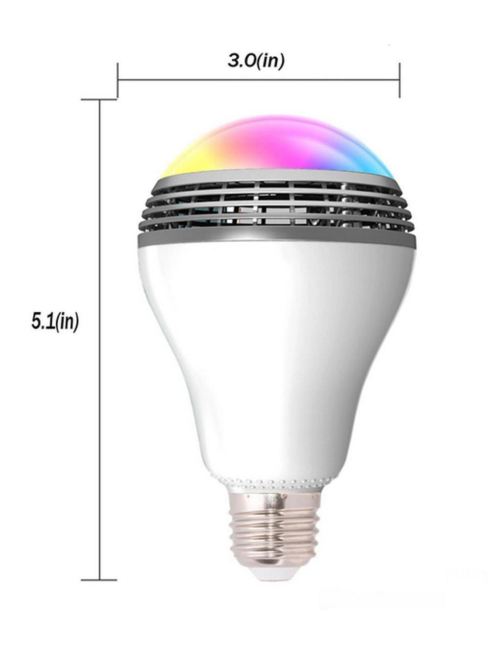 5a882b4a5 Smart LED žiarovka so zabudovaným výkonným reproduktorom