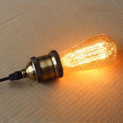 Dekoračná žiarovka - ANTIQUE TEAR - E27, 40W, Teplá biela1