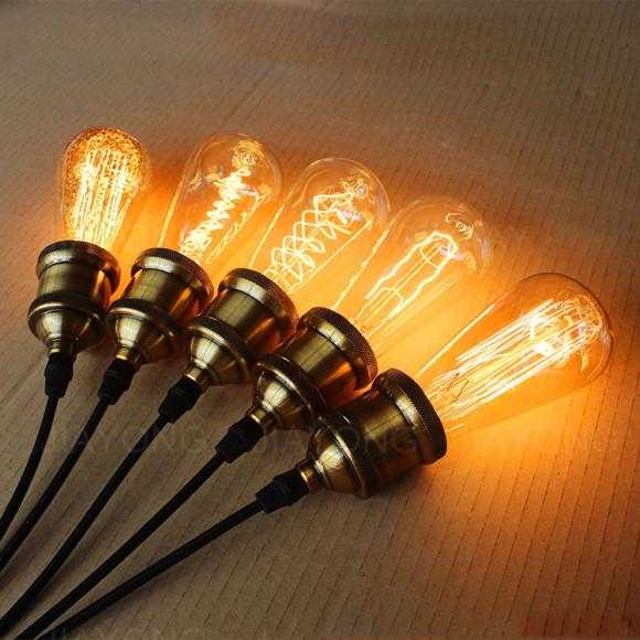 EDISON žiarovka - LEAF - E27, 40W, 120lm2