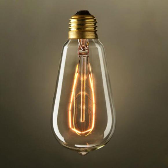 EDISON žiarovka - LEAF - E27, 40W, 120lm5