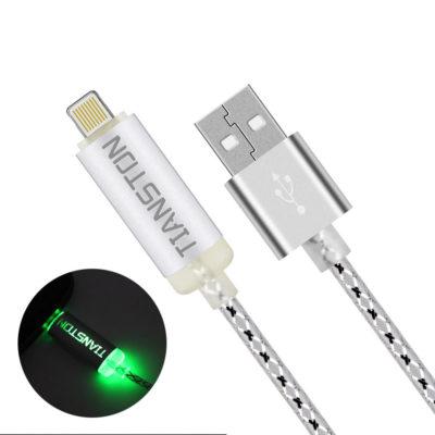 LED svietiaci lightning kábel na iPhone TIANSTON1