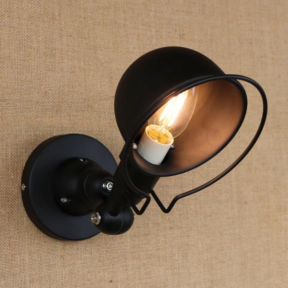Retro nástenné svietidlo France na žiarovky E141