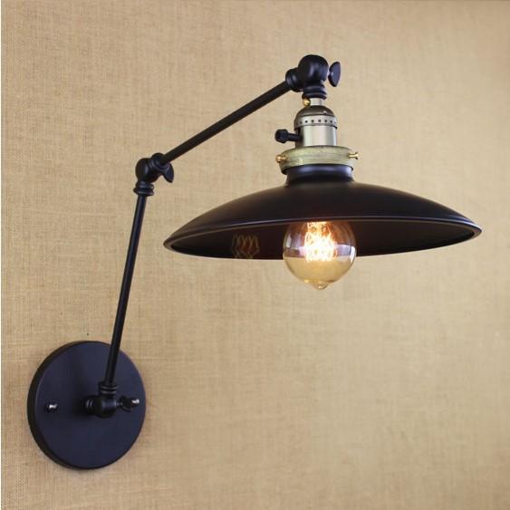 Historická nástenná lampa Paster so spínačom  (2)