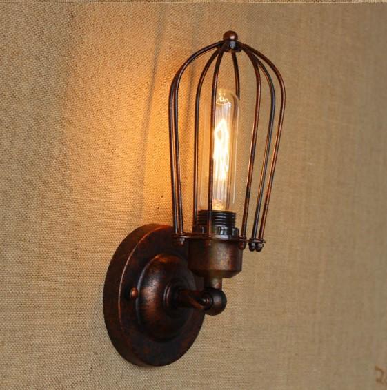 Retro nástenné svietidlo Pared (1)