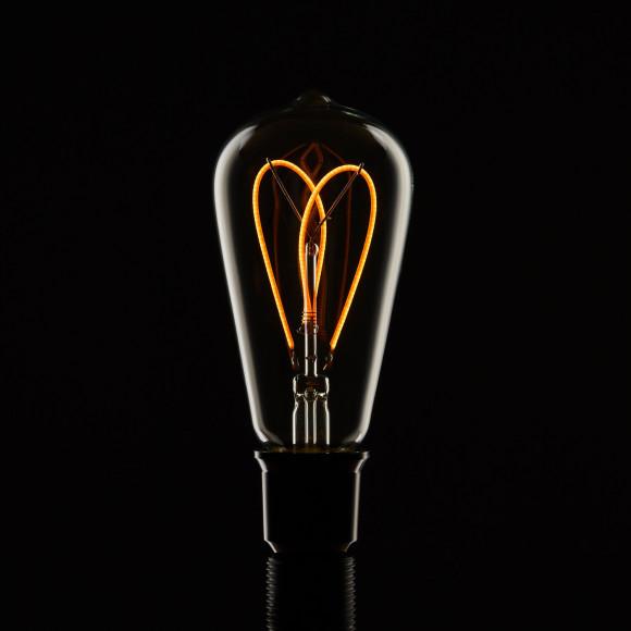 Edison Soft žiarovka Double Teardrop E27 200lm 3W Teplá biela stmievateľná 2 580x580 AKCIE !