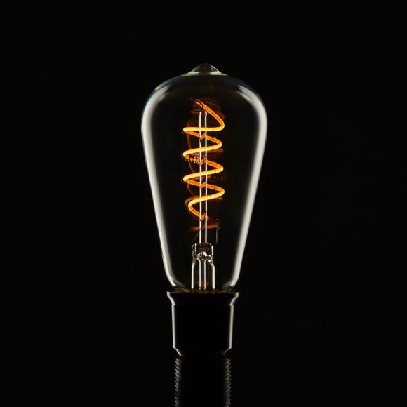 Edison Soft žiarovka Spiral Teardrop E27 200lm 6W Teplá biela stmievateľná 2 580x580 AKCIE !