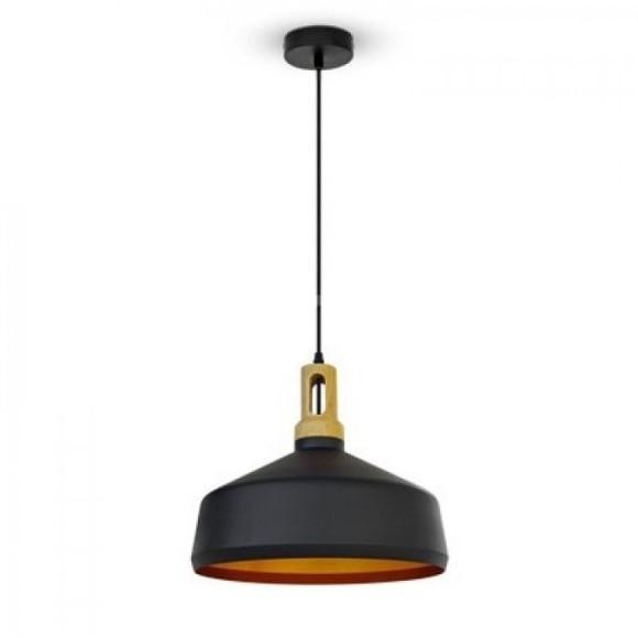 Historické závesné svietidlo Puley s čiernym tienidlom V TAC je kvalitné závesné svietidlo značky V TAC. 1 580x580 AKCIE !