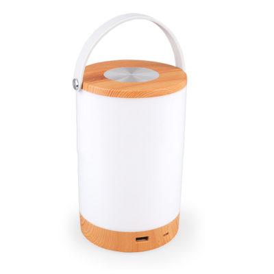 LED dotyková stmievateľná lampa so vstavanou batériou a funkciou