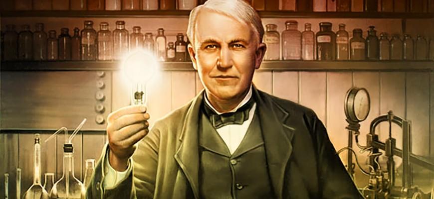 Thomas Alva Edison – prečo Edisonova žiarovka?
