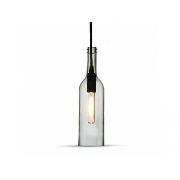 Historické závesné svietidlo Bottle so skleneným tienidlom 580x580 AKCIE !