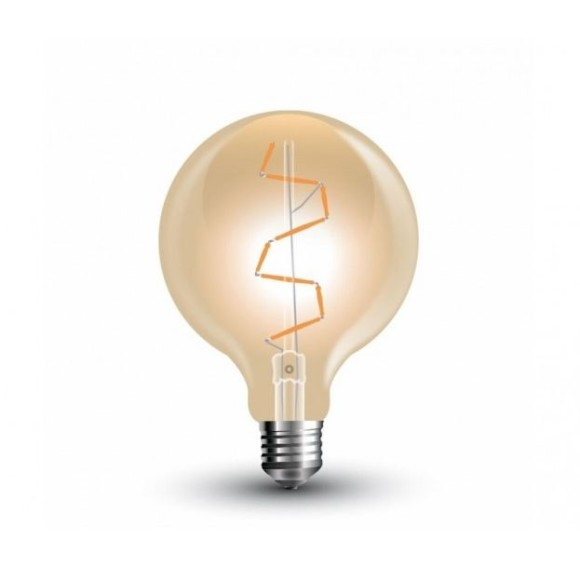 FILAMENT žiarovka Globus E27 4W 600lm Teplá biela 580x580 AKCIE !