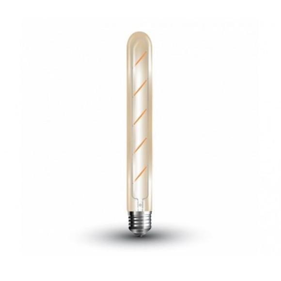 FILAMENT žiarovka - Medium Tube - E27, 5W, 500lm, Teplá biela