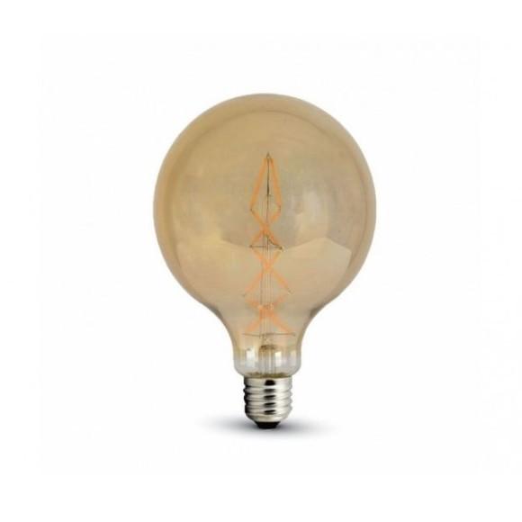 FILAMENT žiarovka Spiral Sphere E27 8W 800lm Teplá biela 580x580 AKCIE !