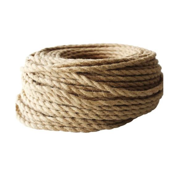 Kábel dvojžilový v podobe retro lana 2 x 0.75mm 1 meter 2 580x580 AKCIE !