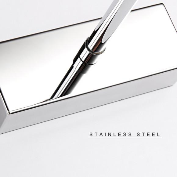 LED 7W nástenné svietidlo s nerezovej ocele vysokej kvality určené do kupeľne, wc, kuchyne a pod (8)