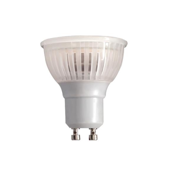 MCOB LED Žiarovka, GU10, 4W, Teplá biela, A+, 380lm