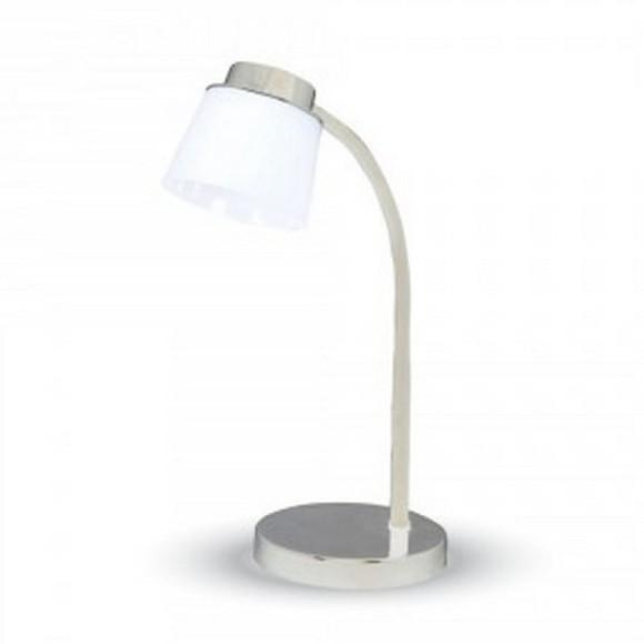 Stolová lampa, 5W, 4000K, 360lm, biela farba