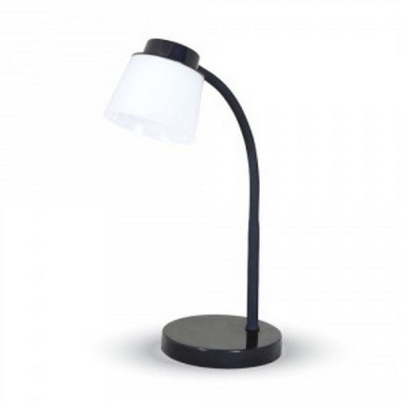 Stolová lampa, 5W, 4000K, 360lm, čierna farba