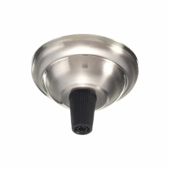 Závesný-okrúhly-stropný-držiak-s-plastovým-zámkom-•-kovový-•-niklová