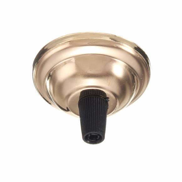 Závesný-okrúhly-stropný-držiak-s-plastovým-zámkom-•-kovový-•-zlatá