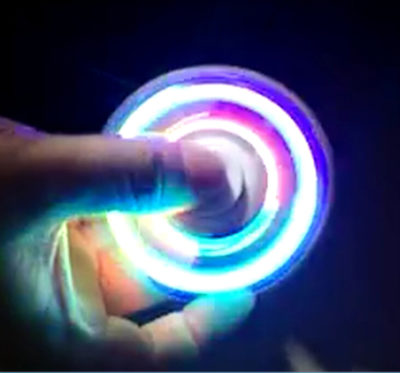 LED Fidget spinner – Anti stresová pomôcka – Dancer2