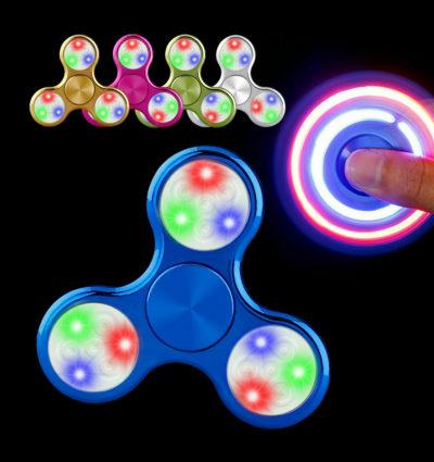 LED Fidget spinner – Odbúravanie stresu – Chrome2
