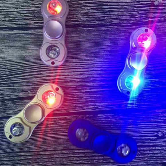 LED Fidget spinner – Anti stresová pomôcka – Race5 580x580 AKCIE !