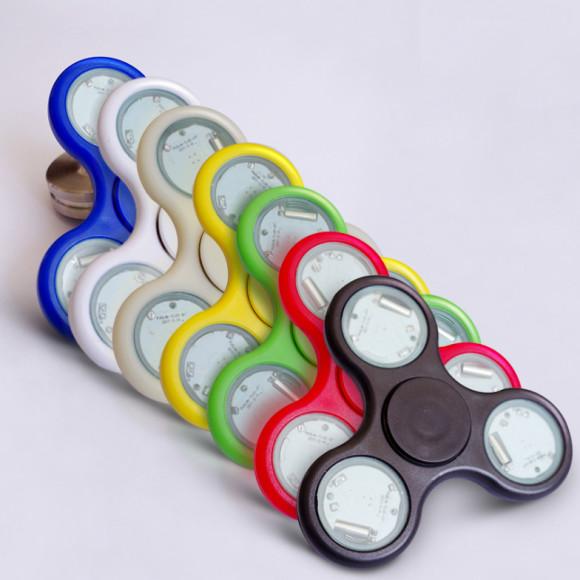 LED Fidget spinner – Anti stresová pomôcka – Wheel1 580x580 AKCIE !