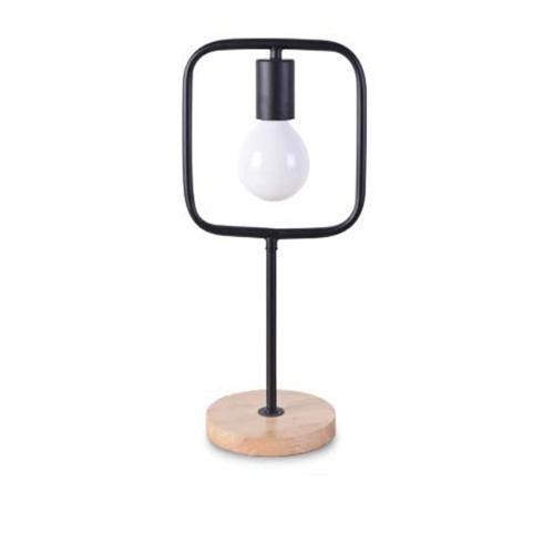 Stolová-lampa-v-tvare-štvorca-s-dreveným-podstavcom