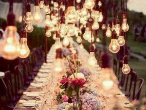 EDISON štýl žiaroviek prenesie vašu udalosť na ďalšiu úroveň
