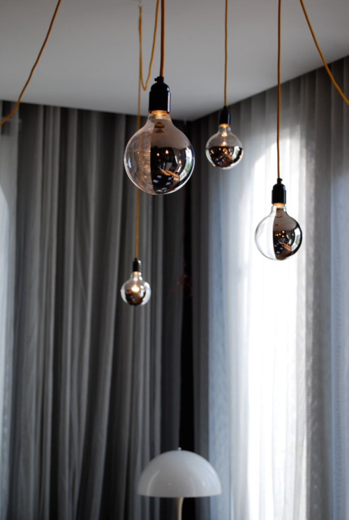 Mirror Kolekcia FILAMENT obsahuje LED fila