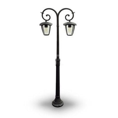 Historickývzhľad a kovový materiál zo sklomurčenýpre ochranu žiarovky